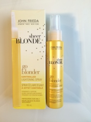 controlled lightenimg hair spray