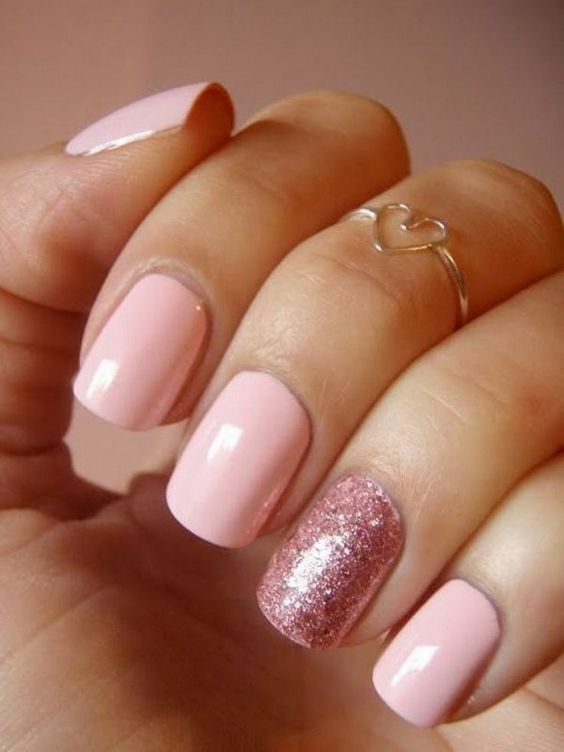 The Cutest Valentines Day Nail Art- Easy and Quick   World My Way